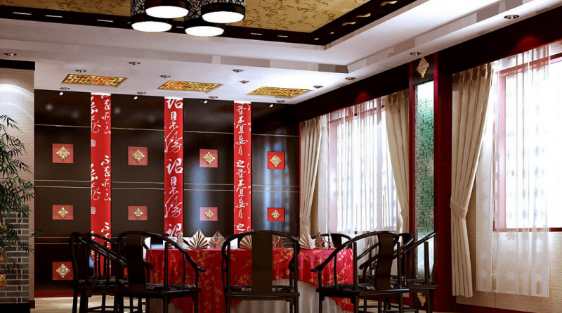 Кухня в китайском стиле — философия востока (54 фото)