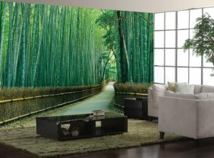 Обои с изображением бамбука