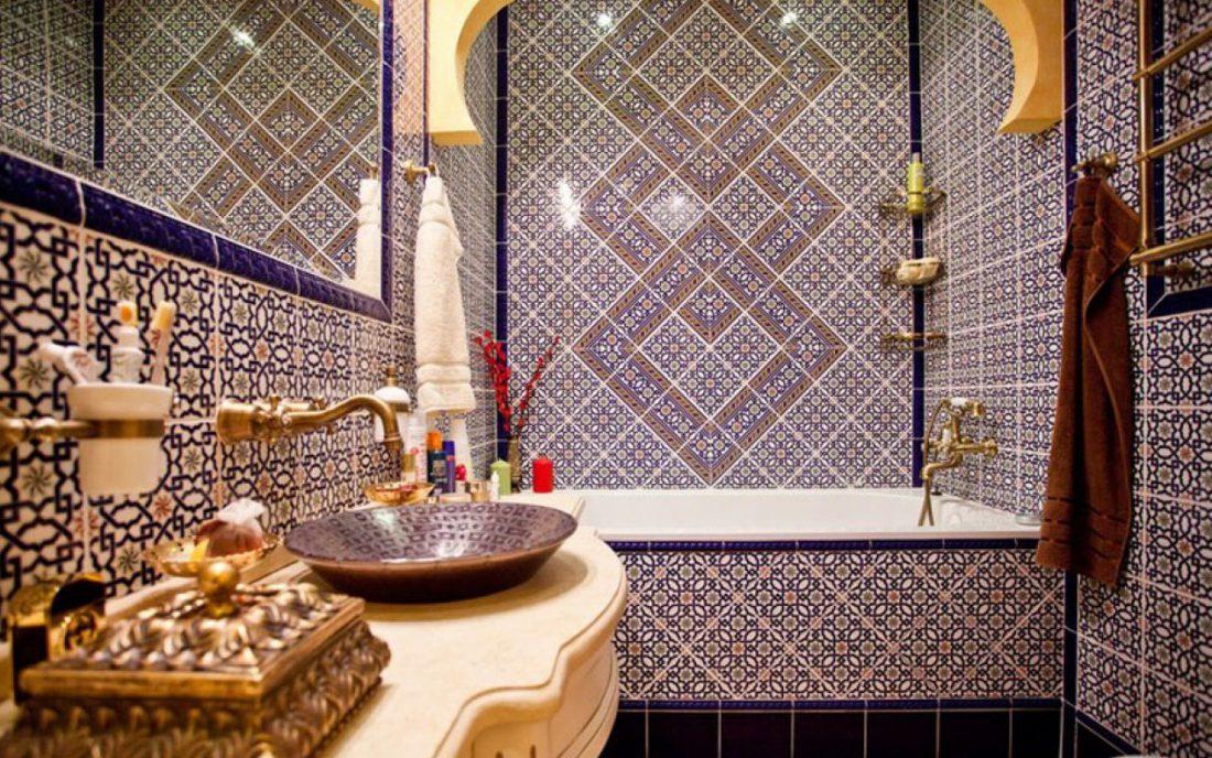 Ceramic moroccan tiles