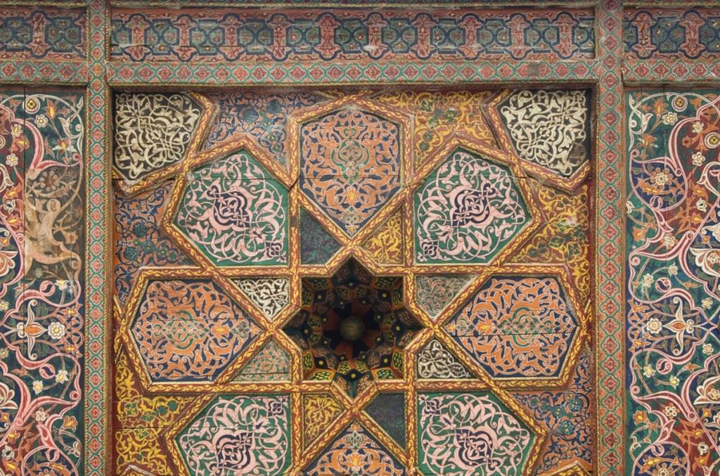 Панно в марокканском стиле