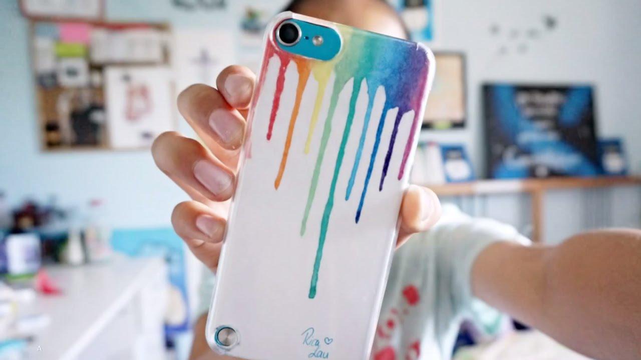 как украсить силиконовый чехол для телефона своими руками