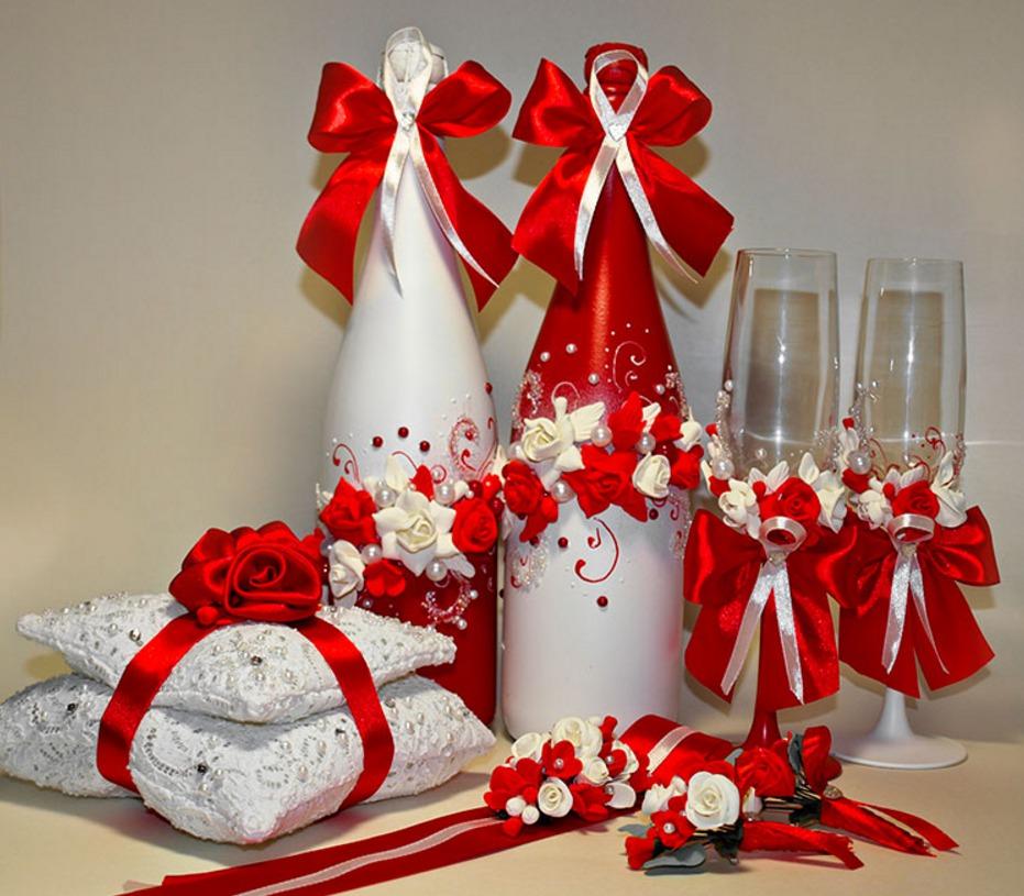 Свадебные аксессуары своими руками для фото 458