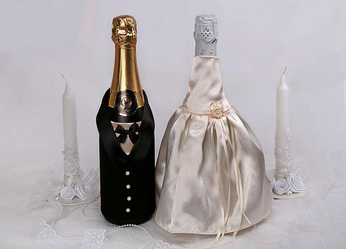 Новогодняя бутылка своими руками. Мастер-класс 30