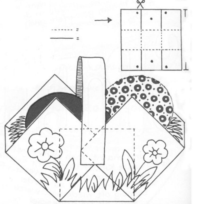 Бумажные корзины схемы