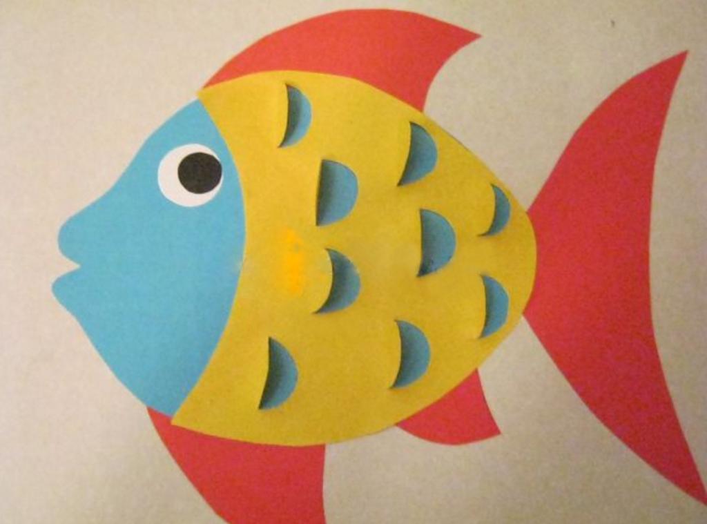 Шаблон рыбка мастер-класс