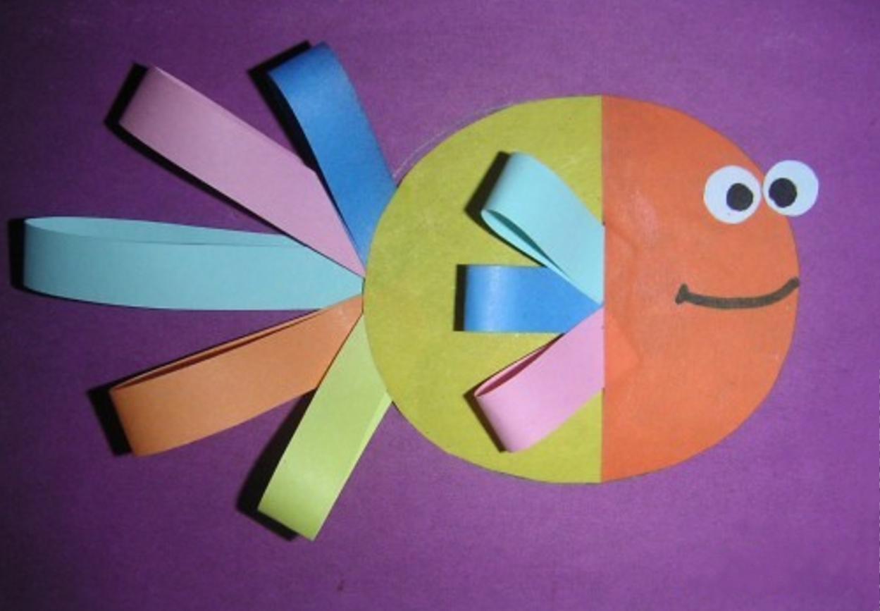 Поделки из бумаги для детей 4-5 лет