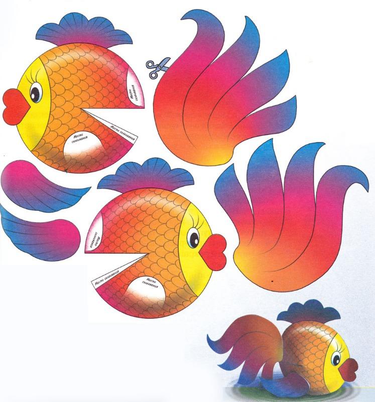 Рыбки своими руками шаблоны