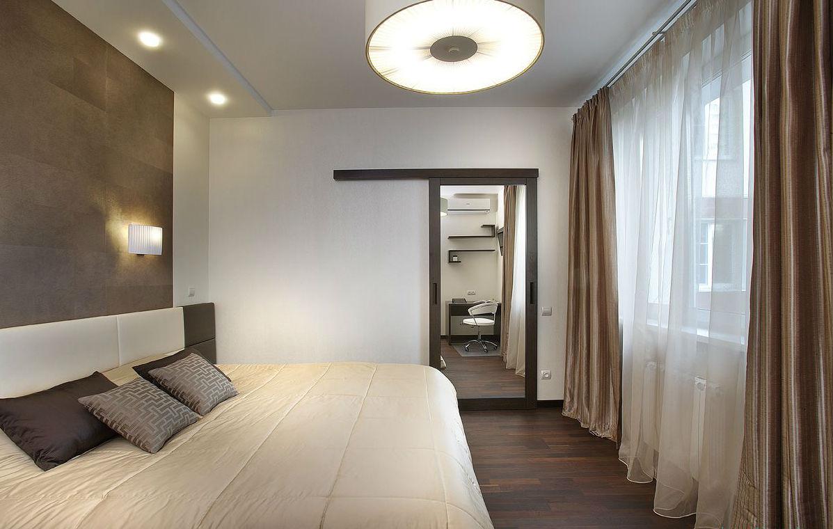 Дизайн спальни 13 кв.