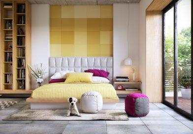 Идеи оформления дизайна и декора стен в спальне (+46 фото)