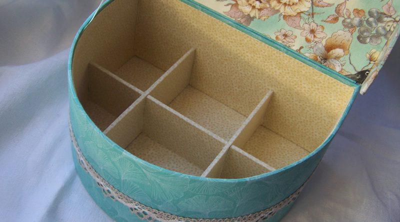 Шкатулка сделанная из картона своими руками
