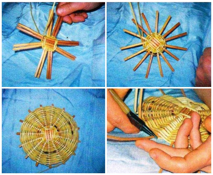 Плетение корзинок из проволоки своими руками 36