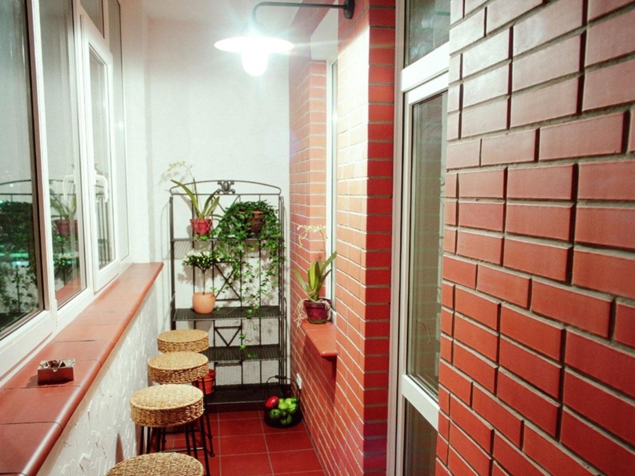 Дизайн балконов и лоджий, интерьеры балконов.
