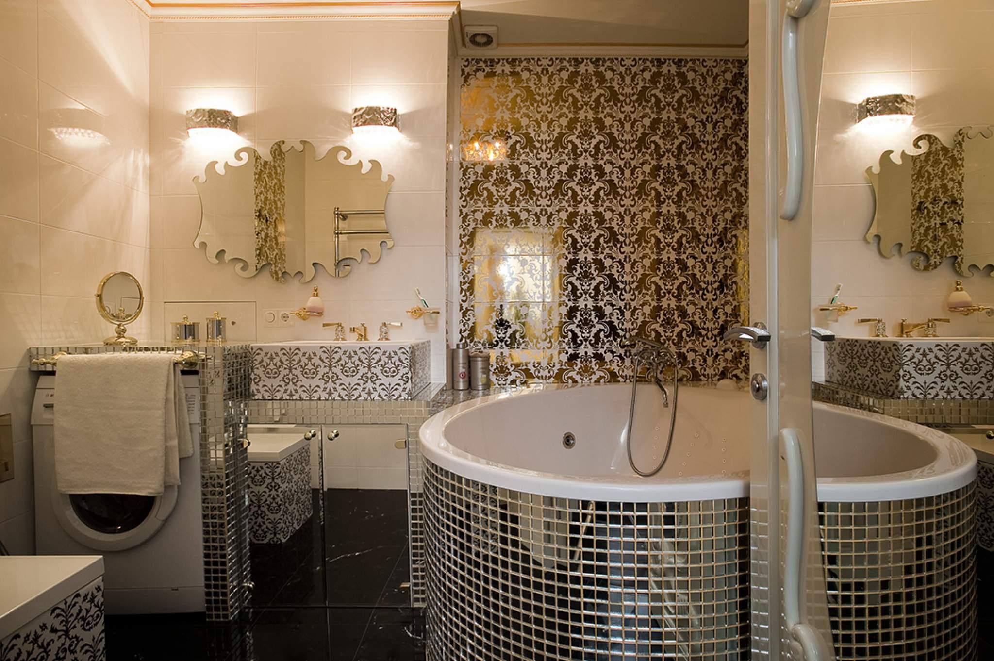 Декор в ванной комнате – 36 фото с интересными идеями