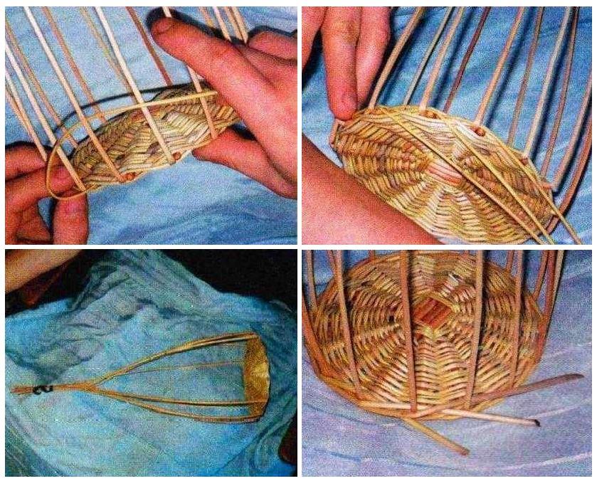 Как сделать плетеные корзины своими руками 359