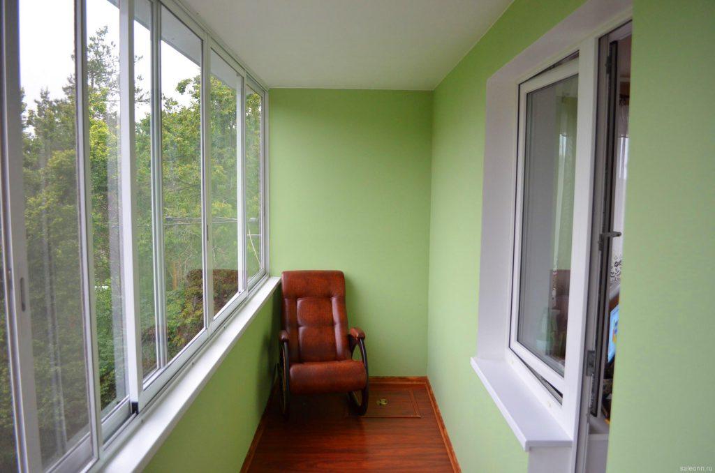 Внутренняя отделка балкона: проведение работ полностью своими руками