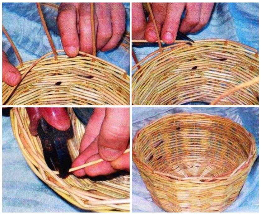 Как сделать плетеные корзины своими руками 821
