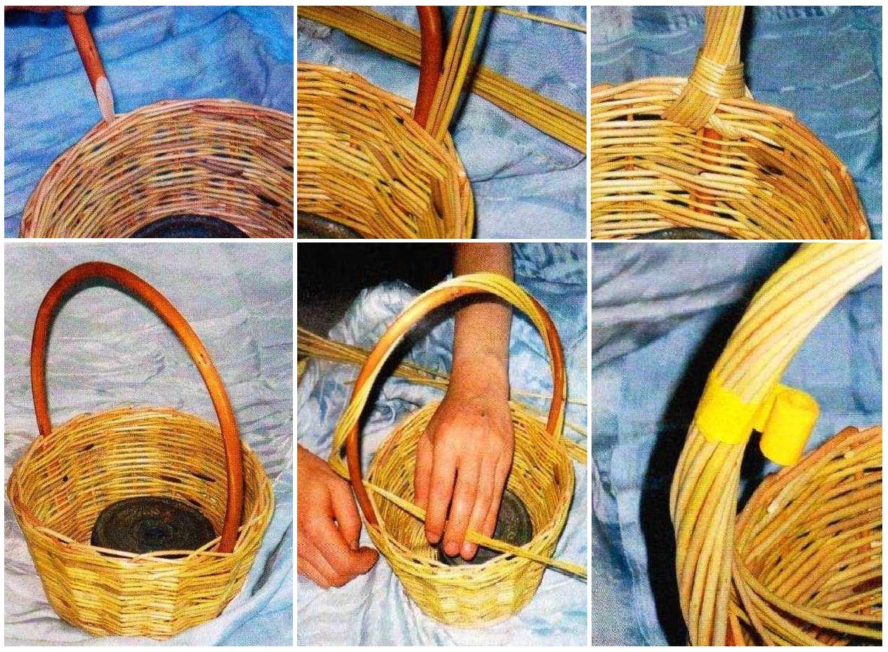 Как сделать плетеные корзины своими руками 85