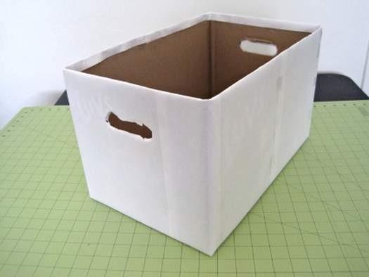 Как сделать пластиковую коробку своими руками 78