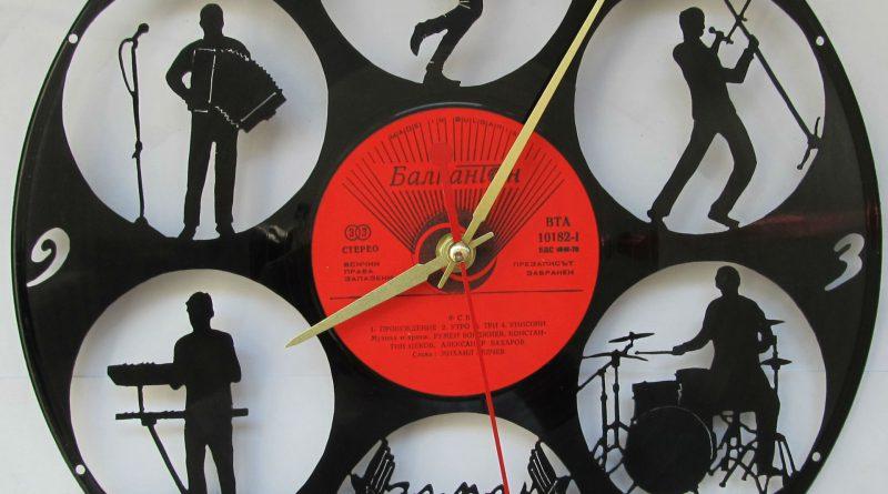 Мастер класс часы из пластинки своими руками