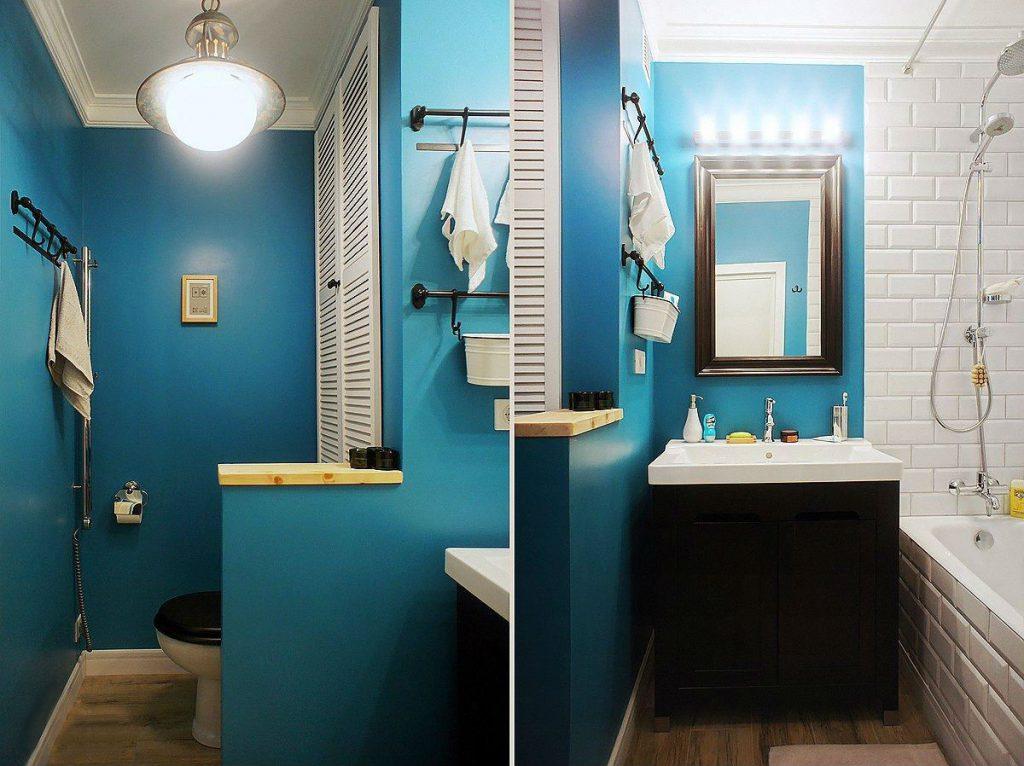 Ванная комната дизайн стены