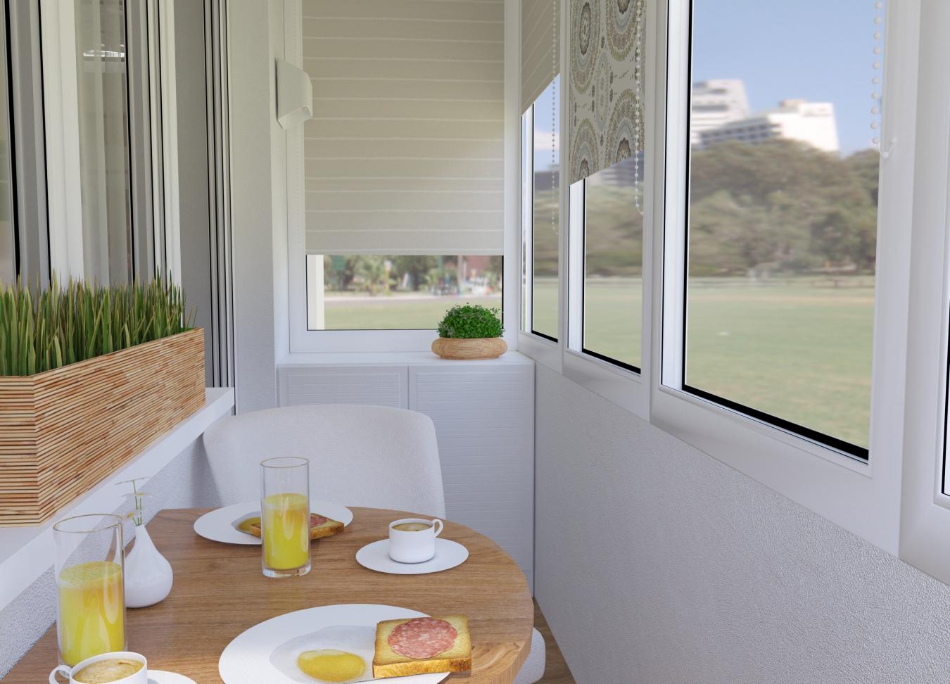Оформление балконов разного размера: превращаем лоджию в уют.