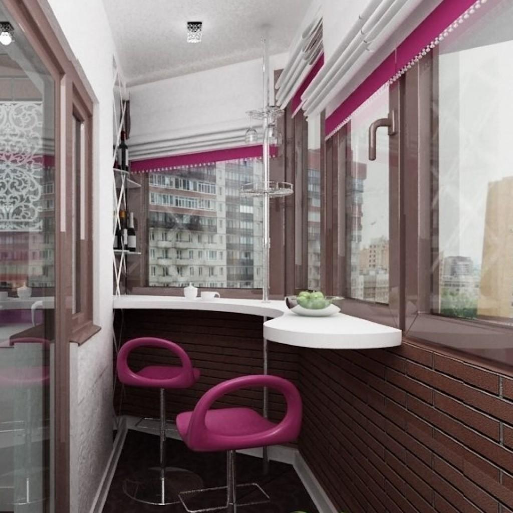 Интерьер. уют на балконе и лоджии, еще варианты. обсуждение .