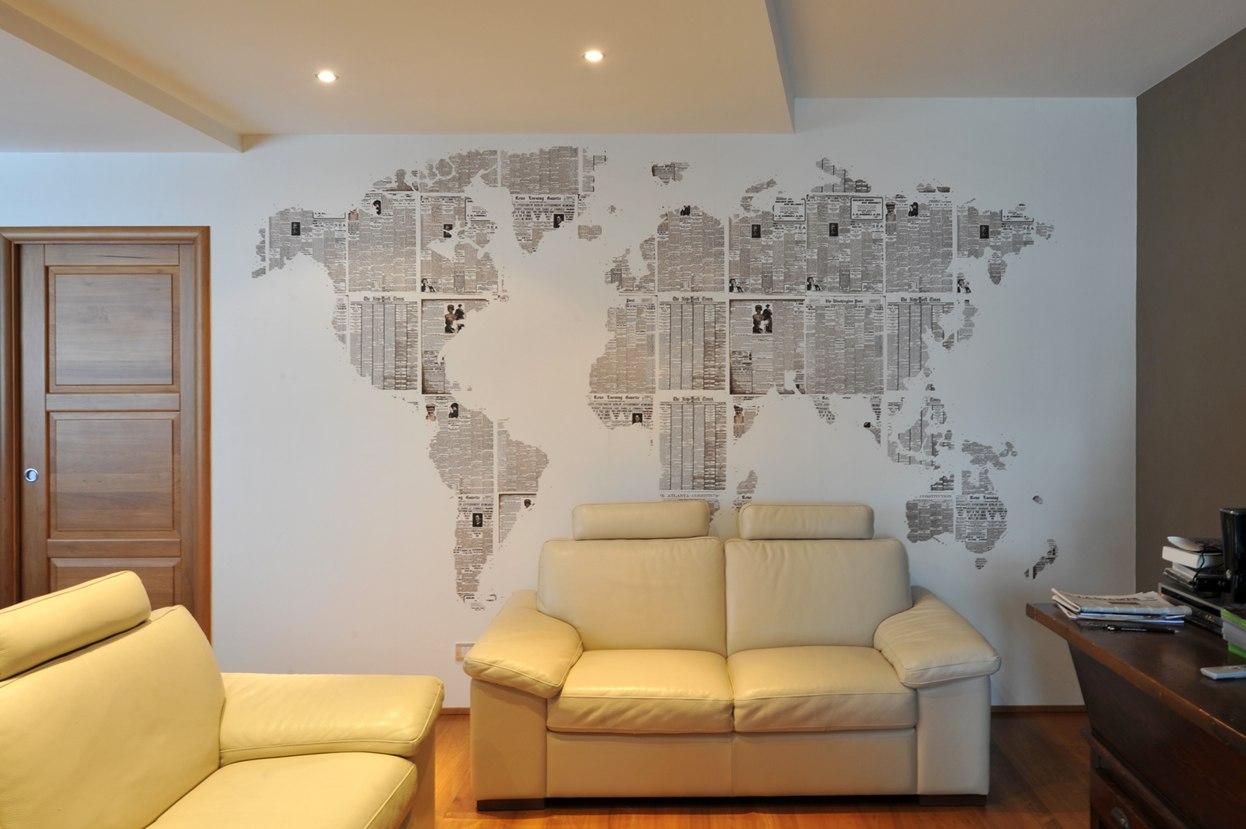 Дизайн из на стену своими руками