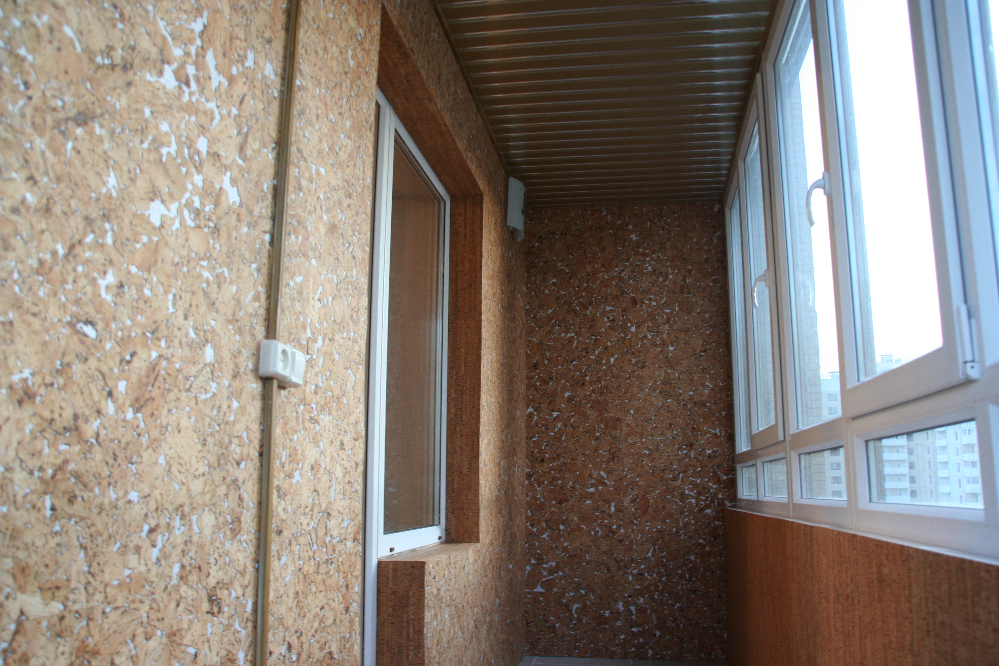 Материалы для отделки балкона: отделка пола, стен на лоджии.