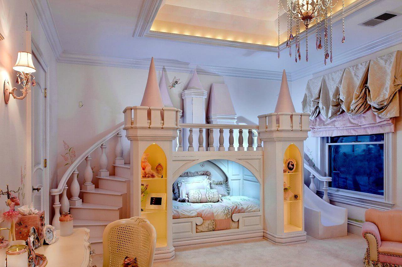 Дизайн детской комнаты для девочки и мальчика 143