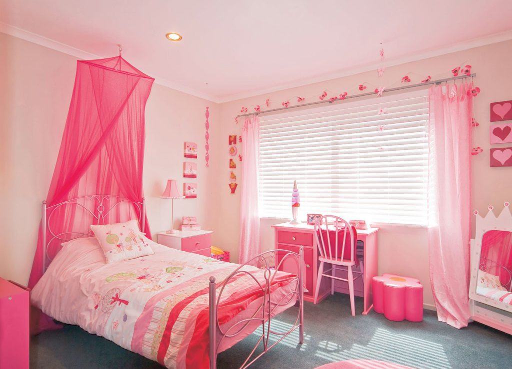 Дизайн спальни для девочки