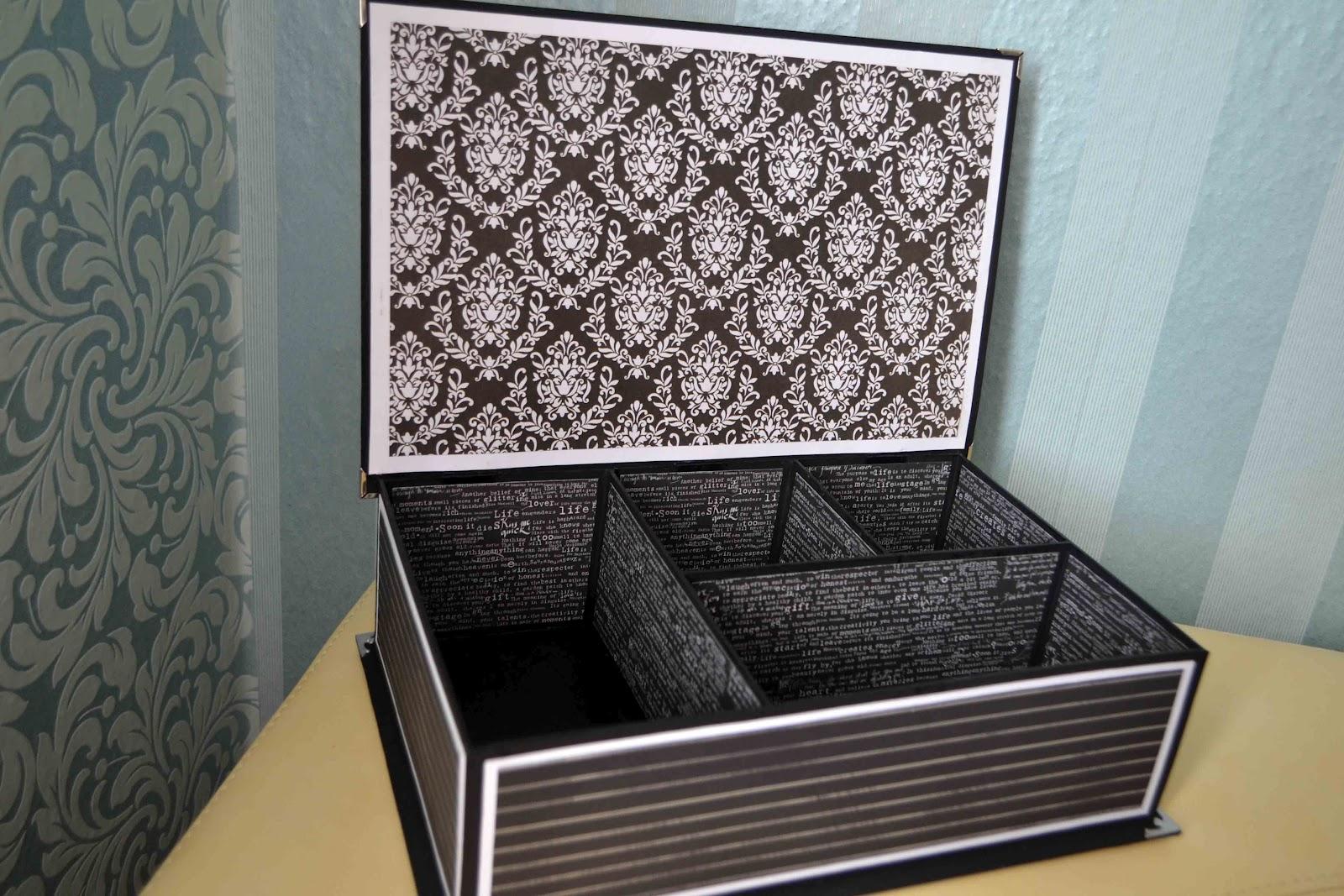 Сделать коробочку для косметики своими руками 40