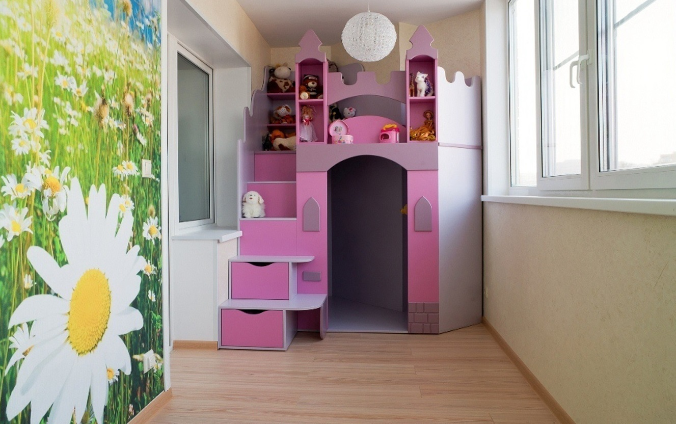 Дизайн балкона и лоджии: интересные идеи. фото..