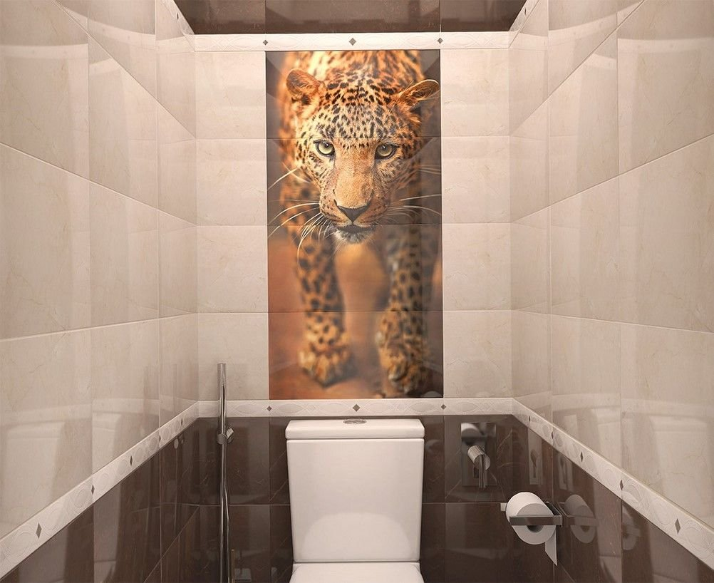 леопардовая ванна фото