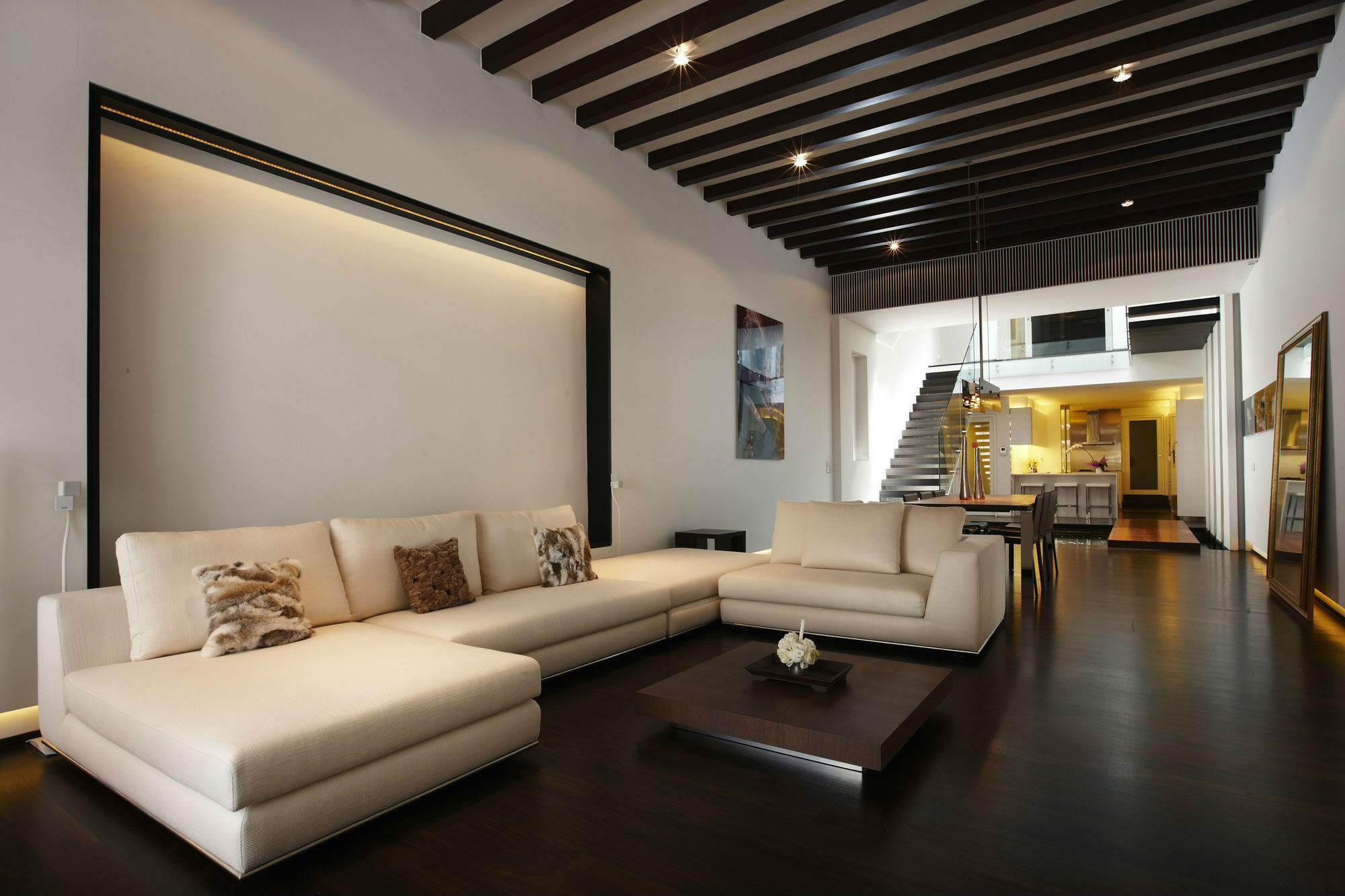 Дизайн в интерьере стены и полы потолок