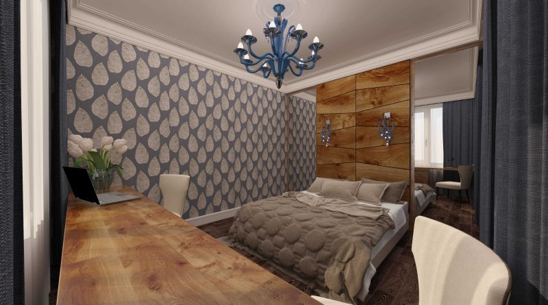 Обои для стен с имитацией дерева: виды материала, особенности и преимущества