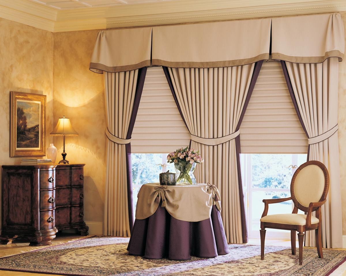 Window drapery ideas in bedroom