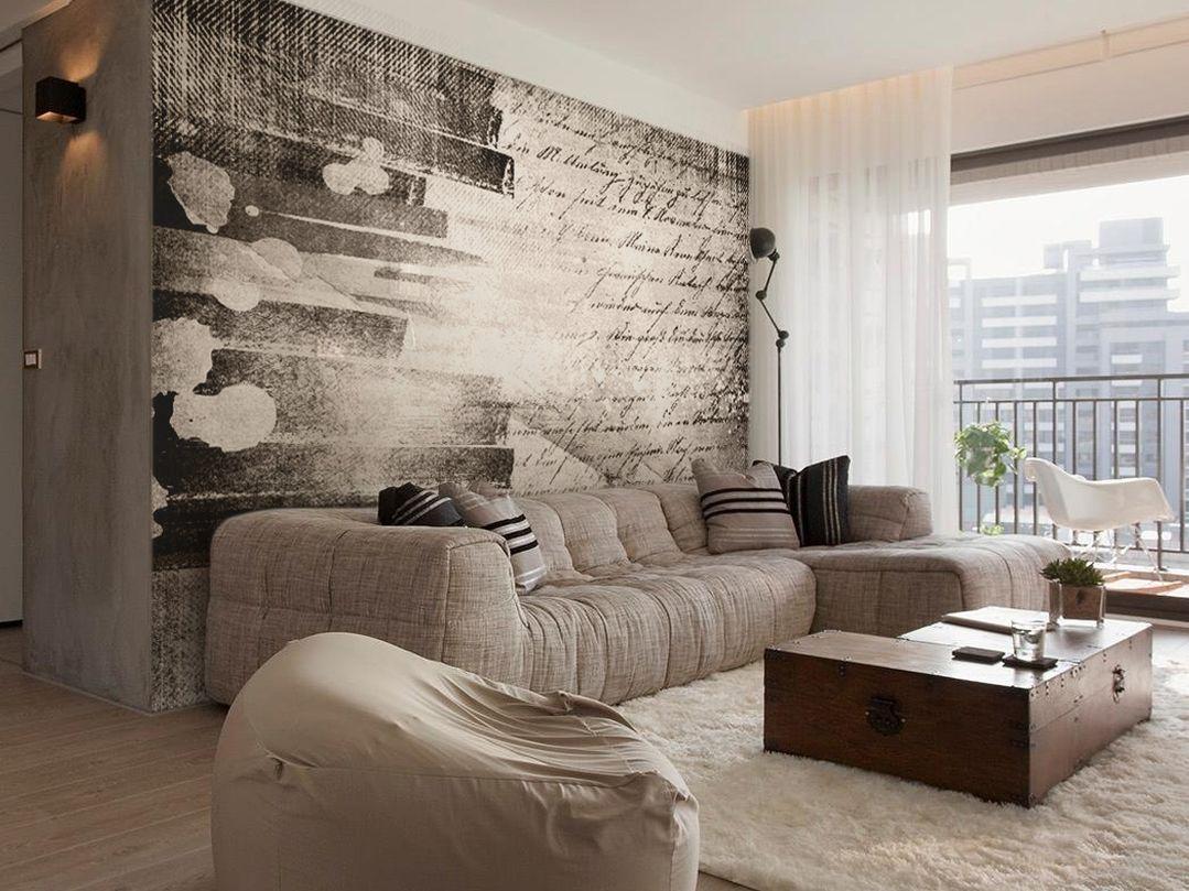 Увеличить пространство комнаты с помощью обоев 10