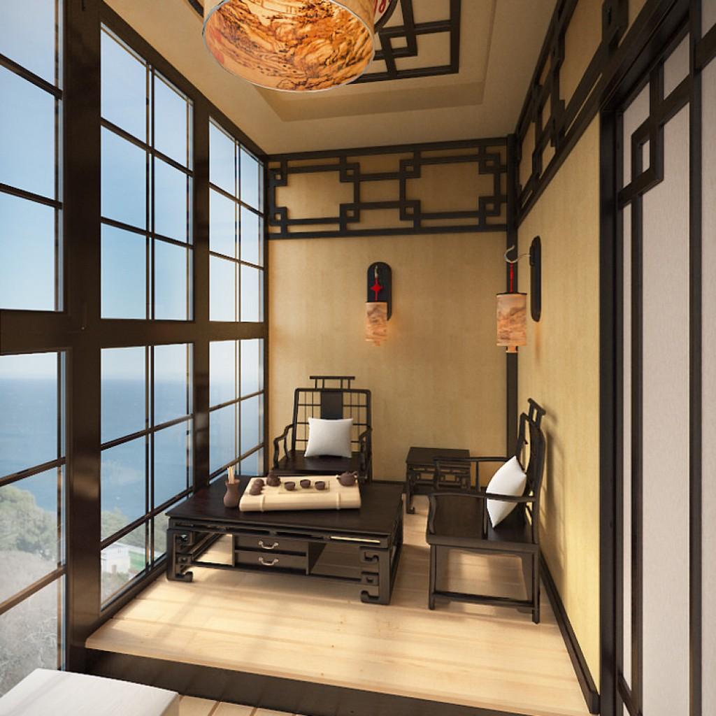 Оформление стен на балконах: различные варианты отделки.