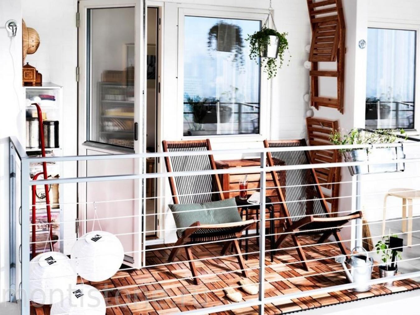 Красивый балкон - фото удивительных вариантов оформления.