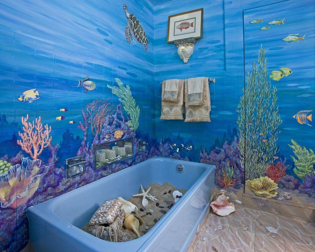 Декор в ванной комнате 100 идей для ванной вашей мечты (29) 29