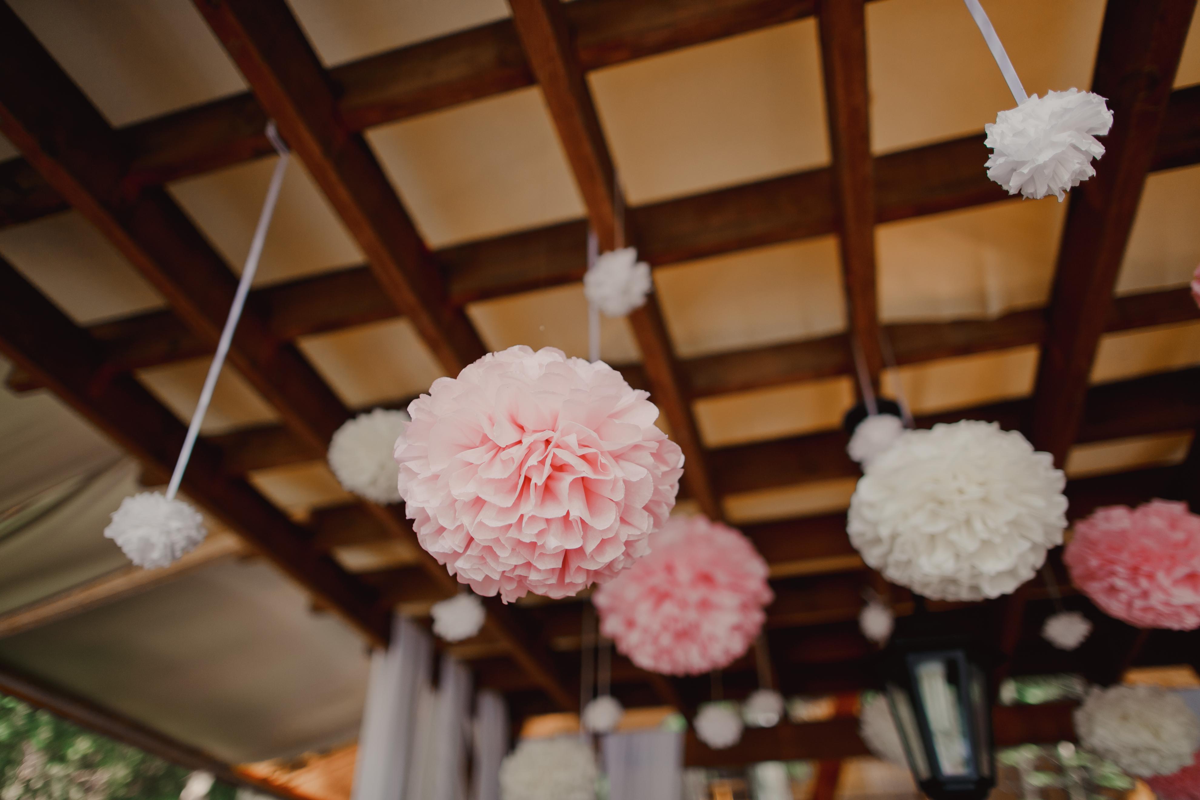 Подвесные шары своими руками