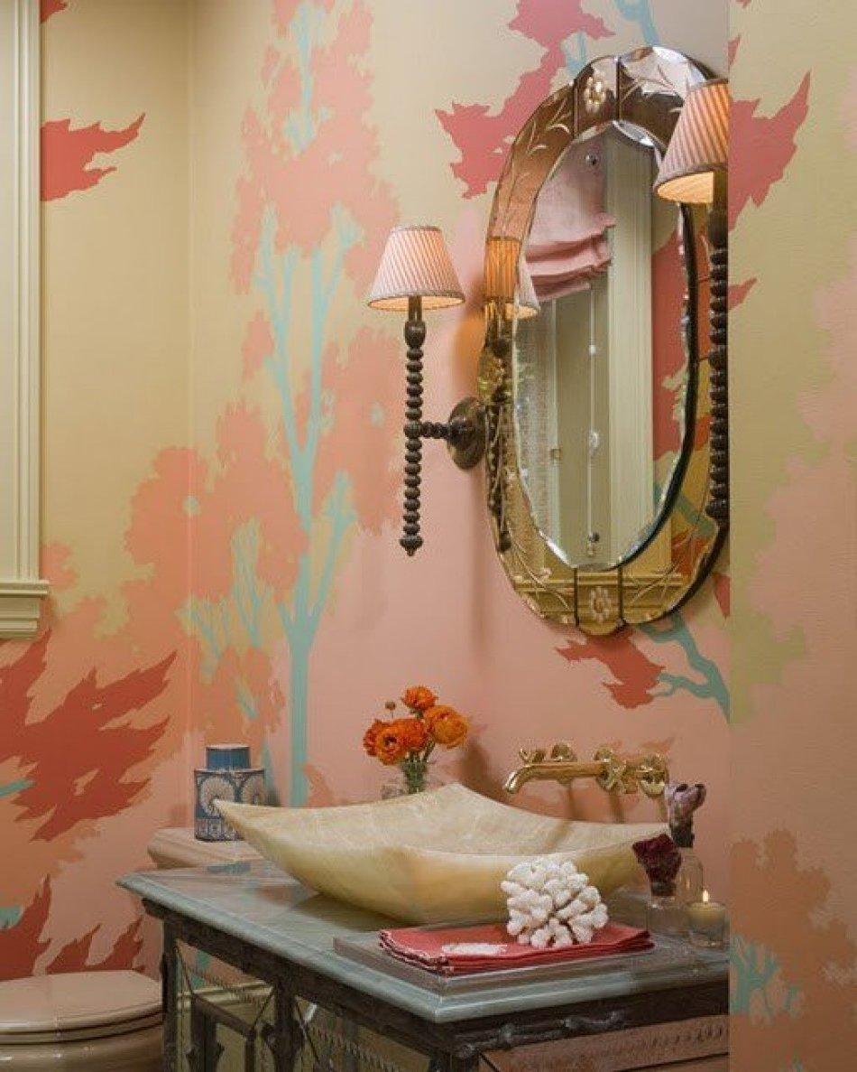 Декор ванной комнаты своими руками видео
