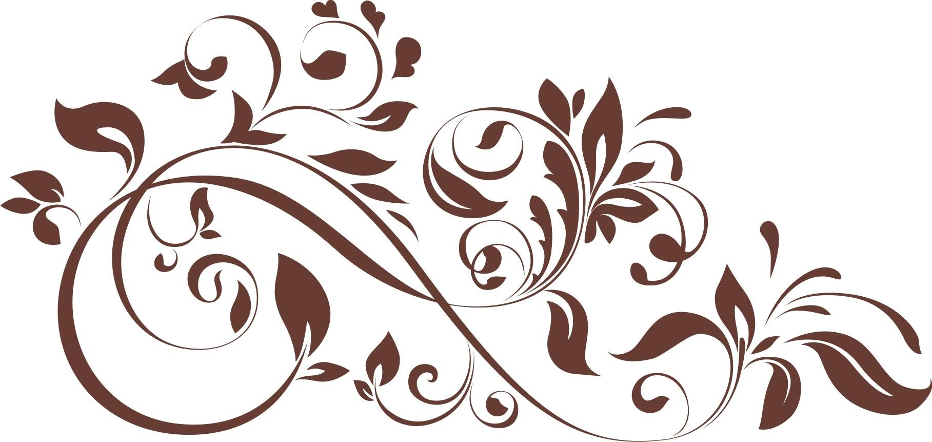 Бесплатно в векторе узор с цветами