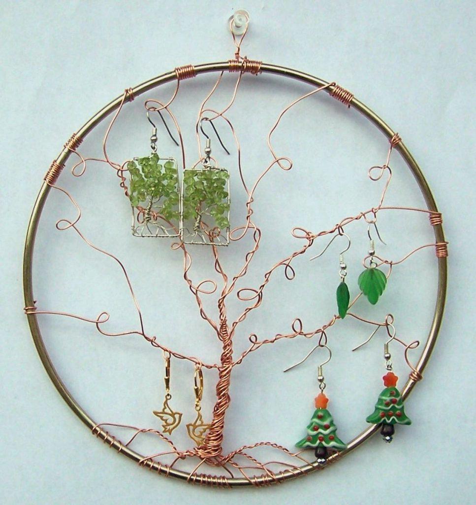 Деревце для бижутерии своими руками
