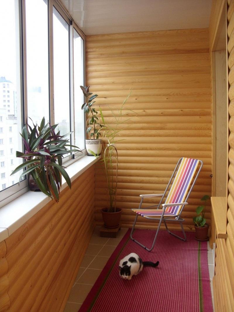 Балкон под дерево дизайн