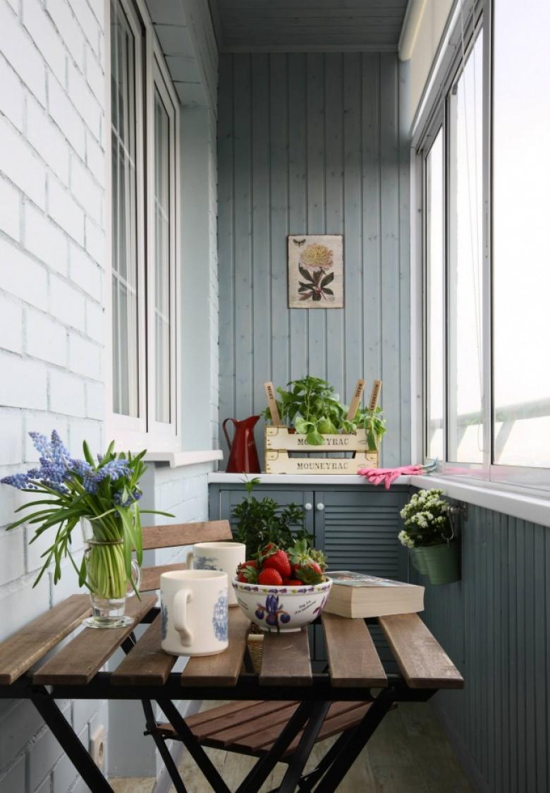 Идеи для маленьких балконов