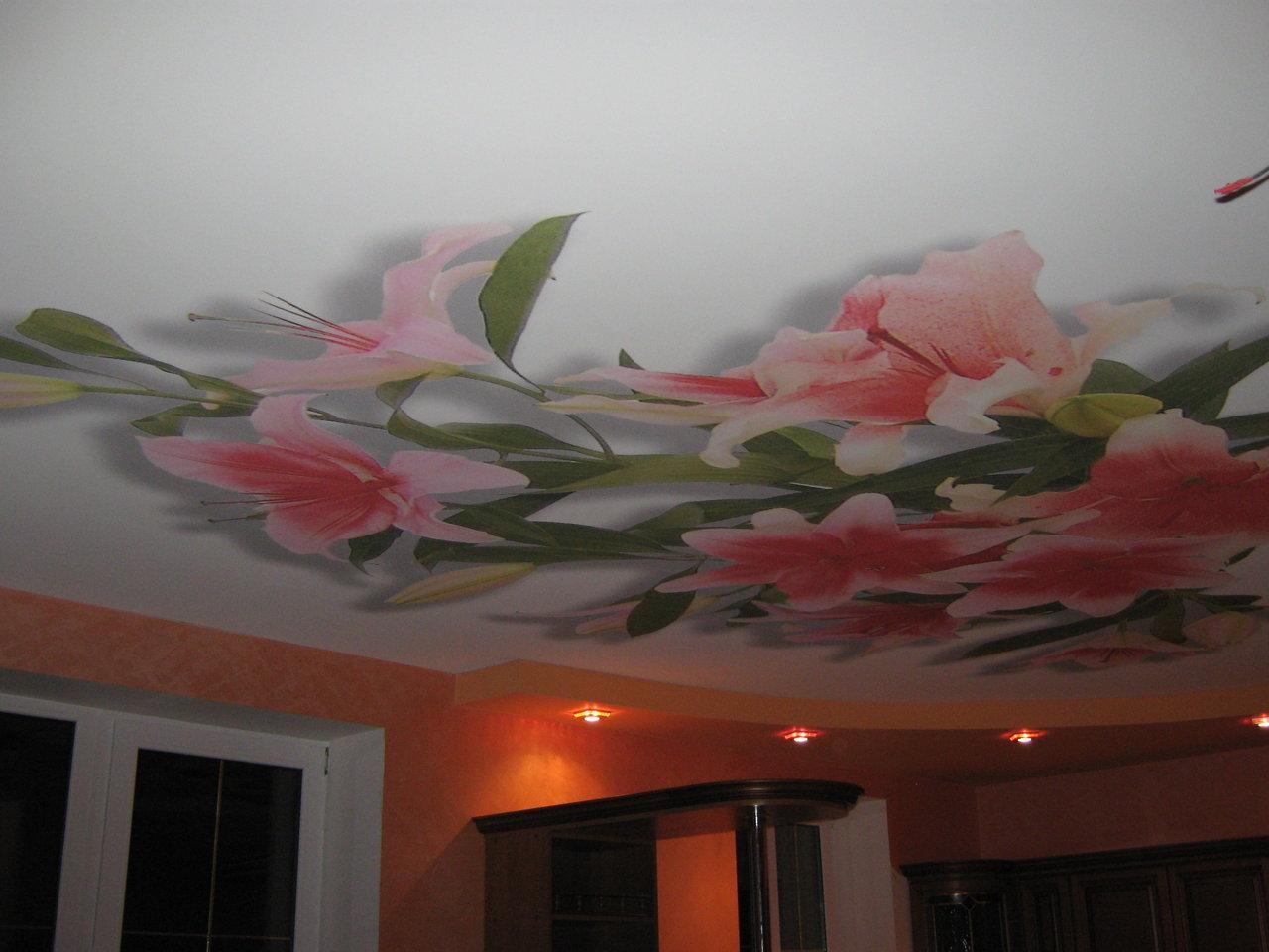 Декор потолка фото своими руками
