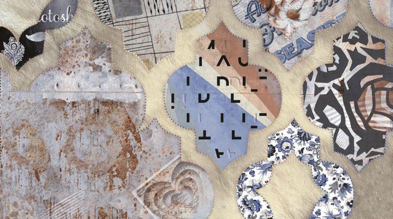 Современный интерьер с обоями в стиле пэчворк (+35 фото)