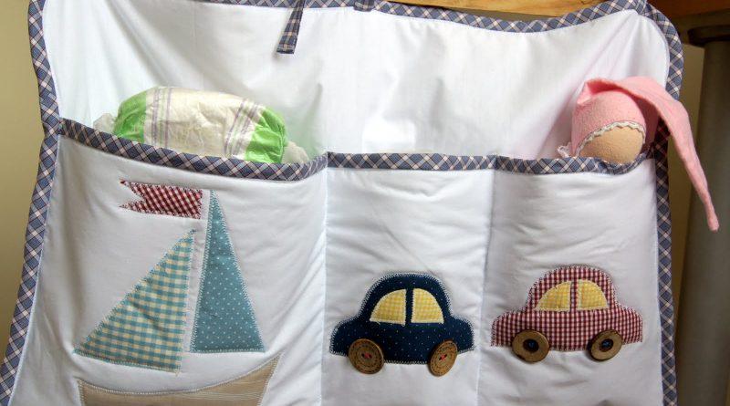 Кармашки кроватку своими руками