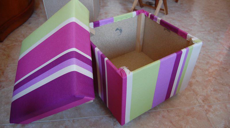Коробка своими руками из картона для игрушек 64